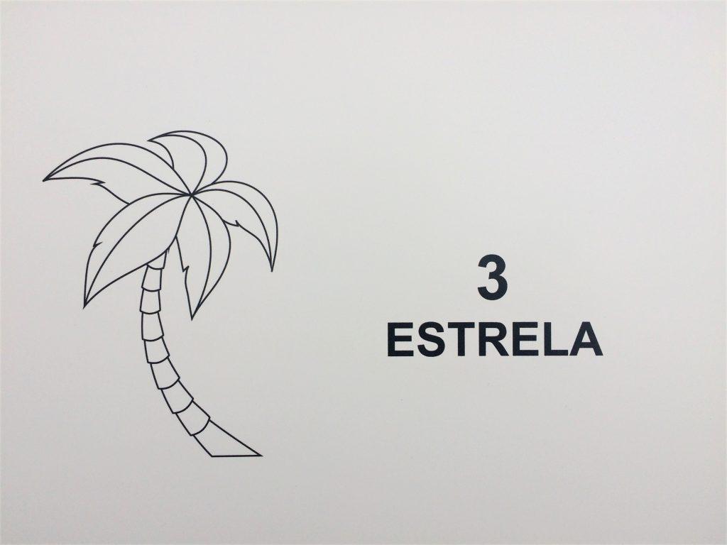 chambre 3 estrela