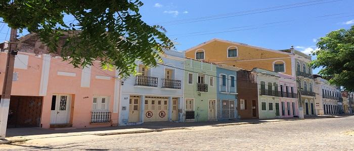 Rue coloniale d'Aracati