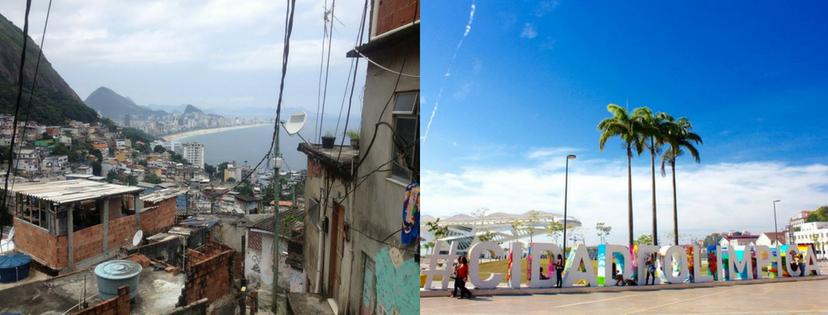 La Favela de Vidigal et Rio pour les JO