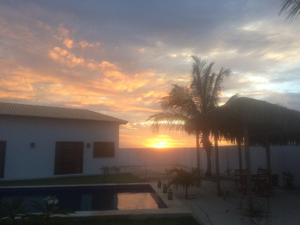 Sunset à la Villa